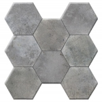 Kerlife HEXAGONAL CEMENT GRIS 37,2x38,8